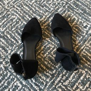 Eileen Fisher Allot Ankle-Wrap Ballet Flats Size 7